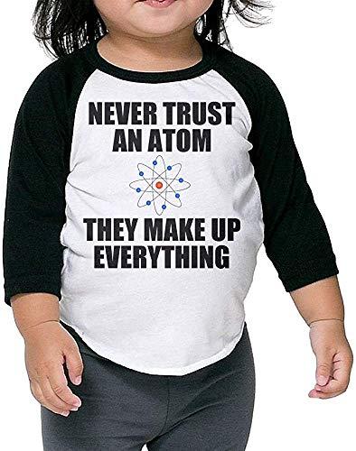 T-Shirt à Manches 3/4 à Manches 3/4 pour Nourrissons Atom