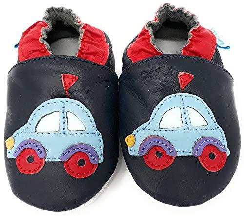 18-24 Mois 2-3 Ans Chaussure de Sport 0-6 Chaussures Cuir Souple b/éb/é MiniFeet 12-18 6-12