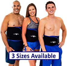 WeightLoss-Solutions Large Waist Trimmer Sauna Belt for Men and Women – Waist Trainer Slimming Sweat Belt to Help You Lose Belly Fat and get a Slimmer Waist.