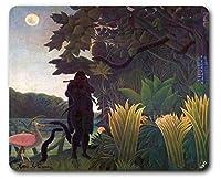 Henri Rousseauマウスパッド–蛇使いの女、1907年( 9x 7インチ