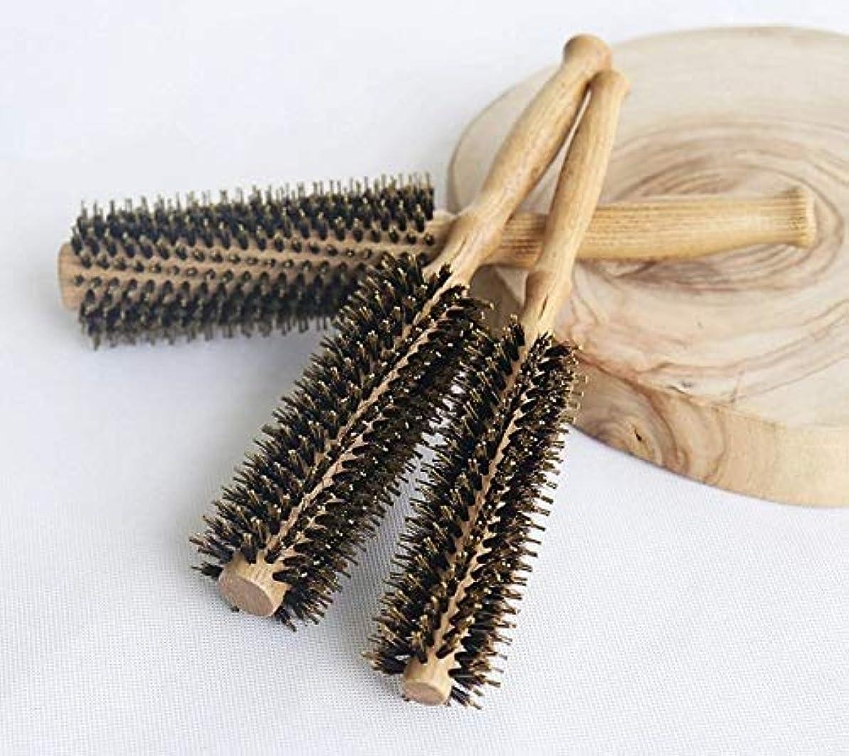 重さ無条件三角形Cetengkeji カーリーヘアコーム帯電防止剛毛ヘアコームスタイルヘアカーリングシリンダーヘアコームコームヘアケア血液循環を促進する髪を改善する (Size : L)