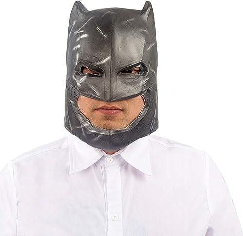 soporte minorista mayorista Máscara de Navidad de Halloween Máscara de Acero Acero Acero de Batman Sombrero de máscara de máscara Máscara de Terror Máscara de máscara Máscaras (Color   negro, Talla   29CM 11inch)  oferta de tienda