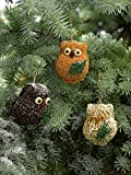 Mr. Bird Ollie Owl Bird Seed Ornaments (1)
