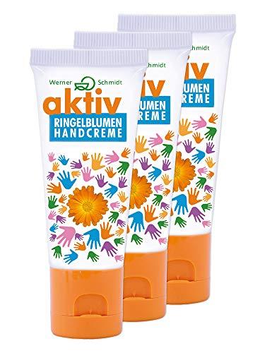 aktiv Ringelblumen Handcreme 75ml - 3er Pack