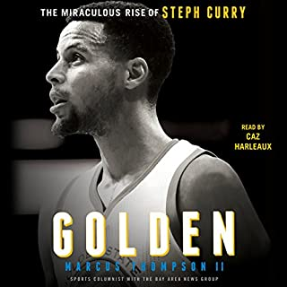 Golden audiobook cover art