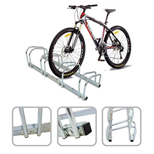 Todeco - Puesto de Bicicletas, Soporte para Aparcar Bicicletas - Tamaño: 99 x 32 x...