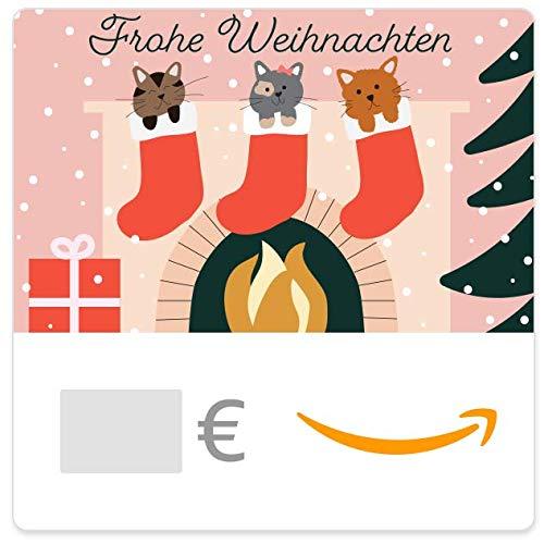 Digitaler Amazon.de Gutschein (Weihnachtskatzen)