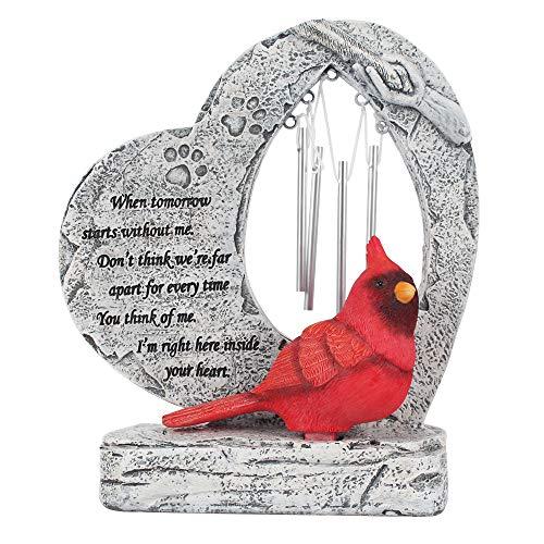 MARYTUMM Pet Memorial Stone by Waterproof Resin, Pet Stone Markers, Pet Keepsake Gift, Dog Loss Gift, Cat Sympathy Gift