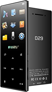 D29 BT MP3 Portable Music Video Player Lossless Sound Music Player 1.8-inch TFT Screen with Speaker FM Radio Recording Ste...