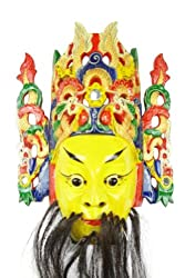 Genuine Chinese Nuo Opera Wall Mask