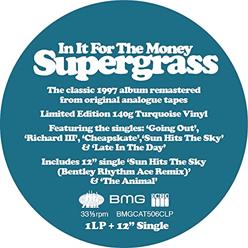 In It for the Money (2021 – Remaster) [Colour Version] [VINYL]