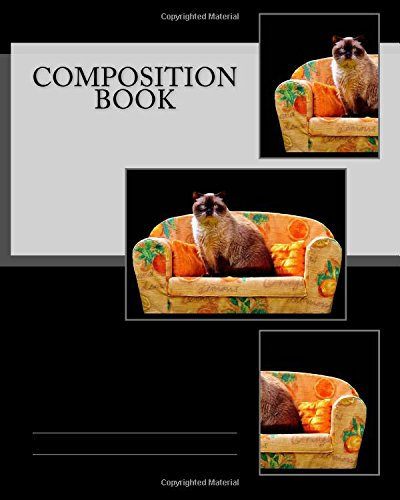 Composition Book: Sofa Cat