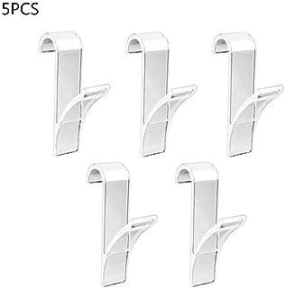 YMYGBH Toalleros De Bano Pared 5 piezas de forma de gancho suspensión de la toalla for toallero radiador tubular baño sostenedor del gancho de almacenamiento en rack de baño gancho