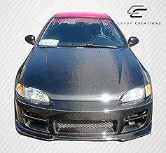 Carbon Creations ED-RWF-341 OEM Hood - 1 Piece Body Kit - Fits Honda Civic 1992-1995