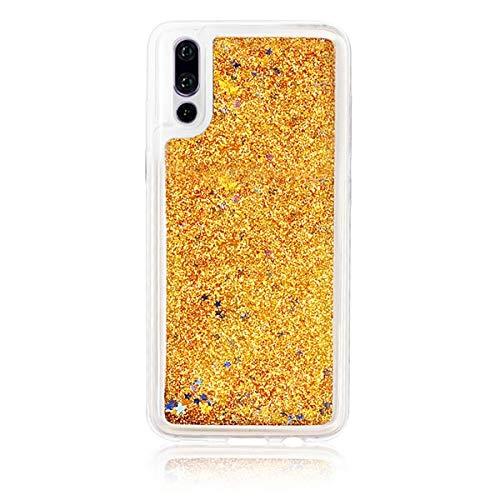 MIEOSEG Para Huawei Mate 9 10 P20 Pro P8 P9 P10 P20 Plus Honor 5c 8 10 Heart Star Glitter Soft Phone Back Cover Funda Coque Gift para Huawei P8 Lite Gold