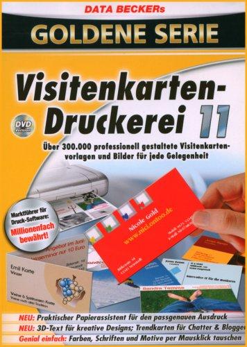 Visitenkartendruckerei 11