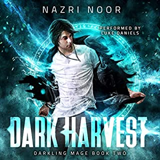 Dark Harvest audiobook cover art