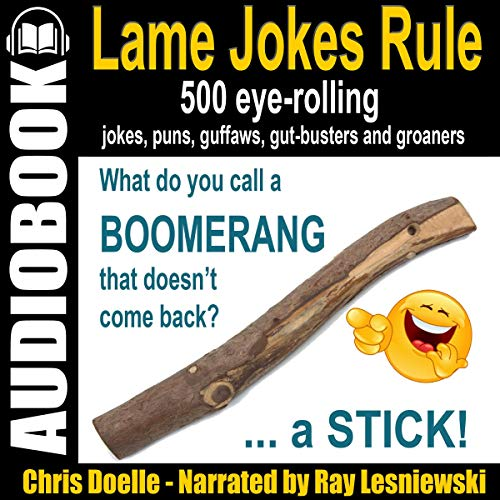 Lame Jokes Rule, Volume 1 cover art
