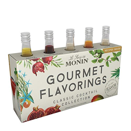 Monin Classic Cocktail Collection Gourmet Flavorings