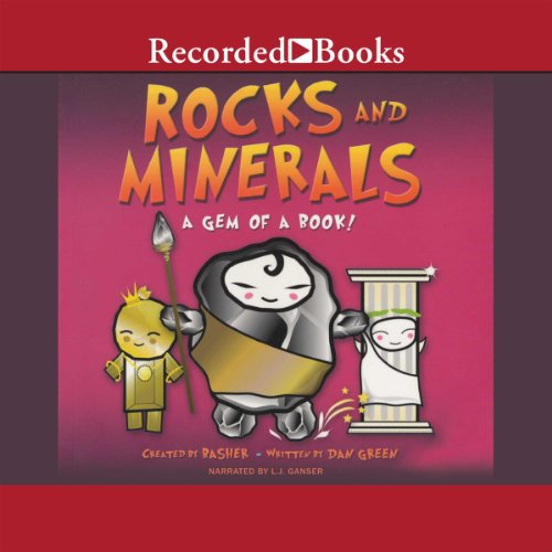 Rocks and Minerals audiobook cover art