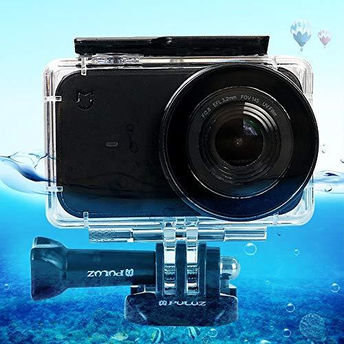Carcasas de cámara Estuche de Buceo con Carcasa Impermeable de acrílico de plexiglás y acrílico subacuático de 45 m for la cámara pequeña Xiaomi Mijia, con Hebilla de Montaje básico y Tornillo