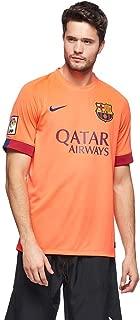 Nike 610595-673 FCB SS Away Stadium Sport Top for Men - Orange