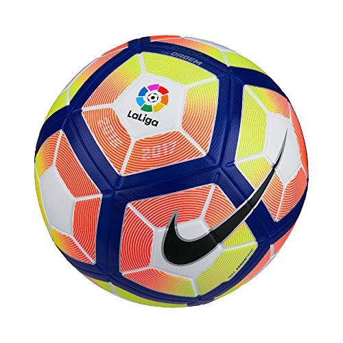 Nike Ordem 4 - LA Liga - Ball Unisex, Weiß (White/Orange/Blau/Schwarz), 5