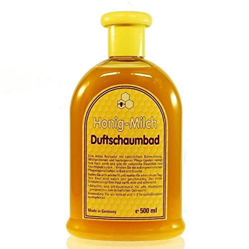 Honig Milch Duftschaumbad (500ml) Schaumbad Honig Milch