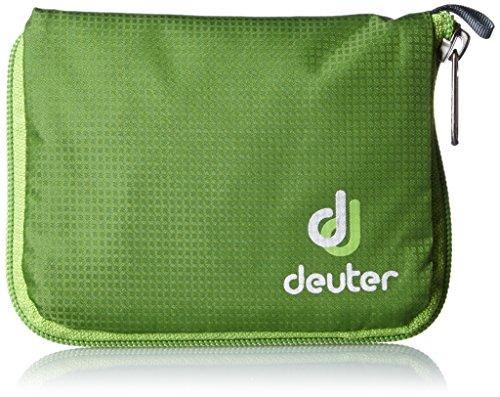 Deuter Zip Wallet Geldbörse mit Reißverschluss, Unisex Erwachsene, grün (Emerald), Einheitsgröße