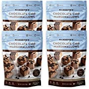 Hammond's Candies - Gourmet Chocolate Chip Marshmallows - 4 Bags, Great for Snacking, Hot Chocolate, S'mores and Homemade Brownies, Small Batches, Handcrafted in the USA