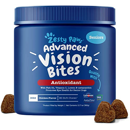 Zesty Paws Eye Supplement for Dogs - Vision...