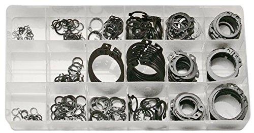 SW-Stahl seege Anneau assortiment, 300 Pièces, 6–32 mm, pour anneaux extérieurs, s8046