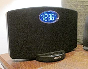Jensen JIMS-211i Docking Music System for iPod and iPhone  Black