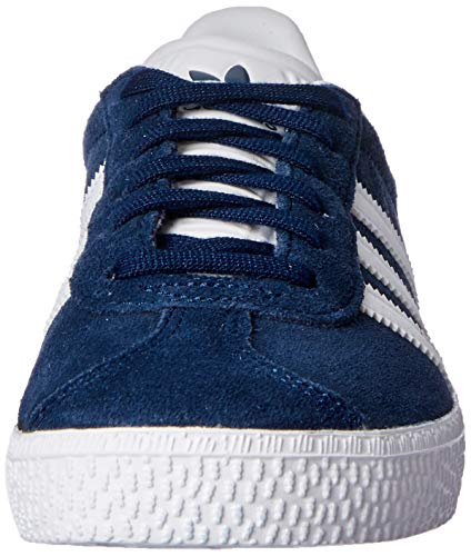 adidas Gazelle J, Zapatillas Unisex Adulto, Azul (Collegiate Navy/Footwear White/Footwear White 0), 38 EU