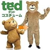 テッド 着ぐるみ コスチューム 男女共用 ワンサイズ (並行輸入品)