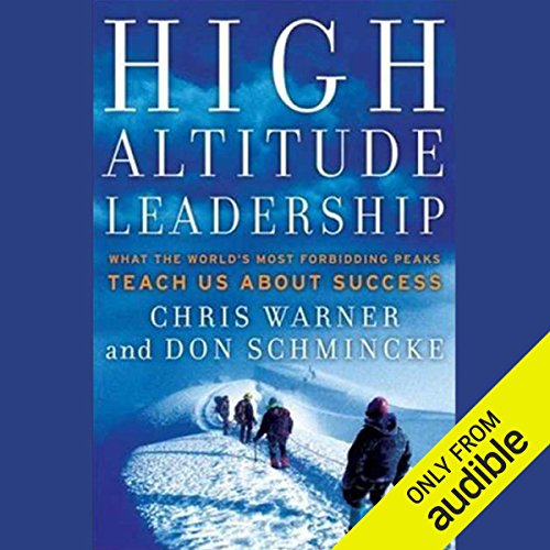 High Altitude Leadership audiobook cover art