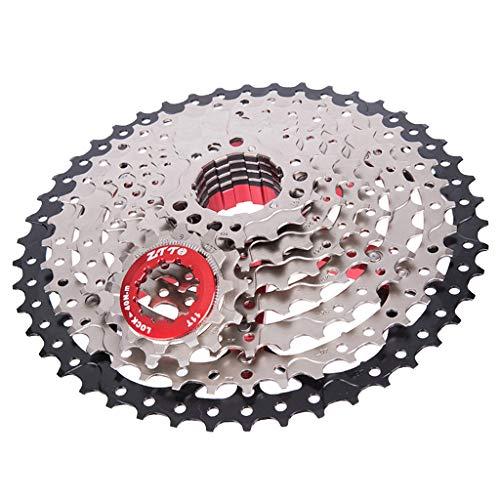 CUTICATE Premium Fahrrad MTB Freilauf 9 Fach Kassette 11-46 T Gewicht: 480g