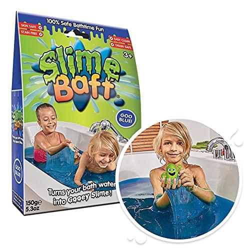 Schleimpulver für die Badewanne von Slime Baff,150g,Blau