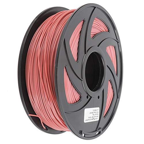 Filamento PLA per stampante 3D da 1,75 mm Bobina da 1 kg Materiali di consumo per molatura, lucidatura, taglio, spruzzatura, pittura rosa