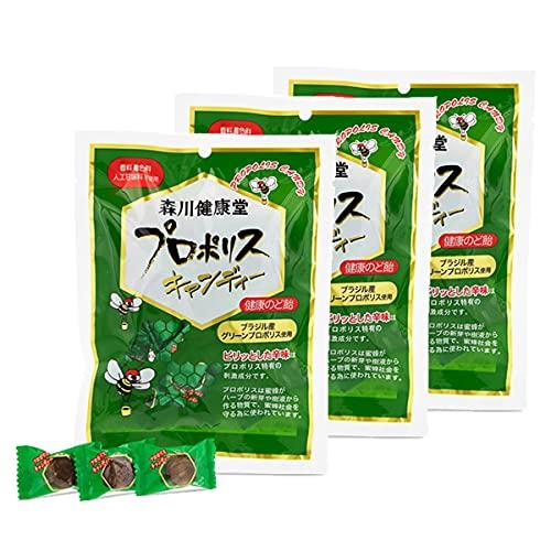 森川健康堂 プロポリスキャンディー 100g ×3個