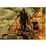 N/P Vintage Filmwerbung Max Fury Road Tom Hardy Charlize
