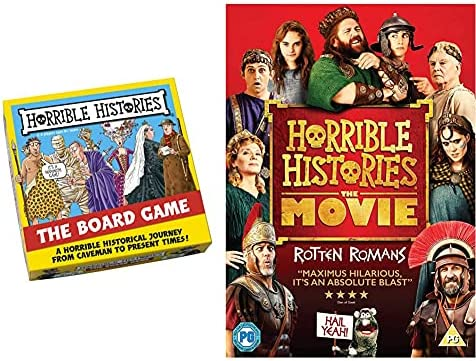 Horrible Histories 7305 Board Game