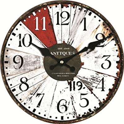 IKClock Wall Clocks - Colorful Design Classic Reloj Wall Clock Fashion Silent Living Room Wall Decor