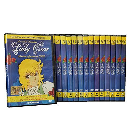 Lady Oscar - La rosa di Versailles - Collezione completa 20 DVD - Editoriale De Agostini