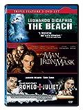 Leonardo Di Caprio 3 Movies Collection: The Beach + The Man in the