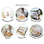 Baby-Milestone-Blanket-for-Boy-and-Girl-Monthly-Blanket-Unique-for-New-Mom-Extra-Soft-Fleece-Month-Blanket-Gender-Neutral-Design-Newborn-Gift-Set-Includes-Bandana-Bib2Frames