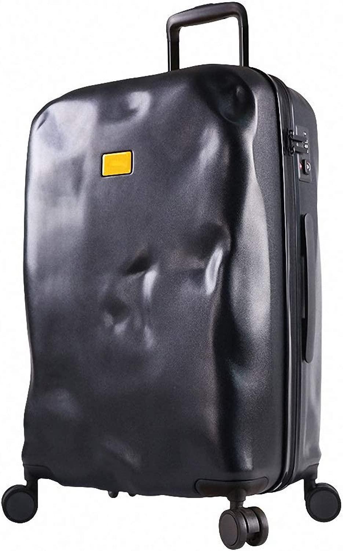 Dceer valigia valigia cassetta portavaligia password 20 24 28 pollici (Coloreeee   NERO, dimensioni   50X32.5X21CM)