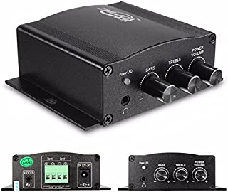 12V 30W Mini HiFi Stereo Amplifier Amp Booster Bass For MP3 Motorcycle Car Home