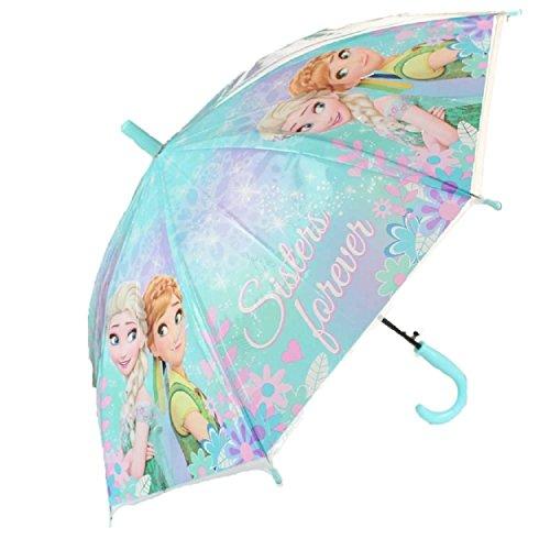 La Reine des Neiges Parapluie transparent automatique 70 cm Parapluie pour fille classique