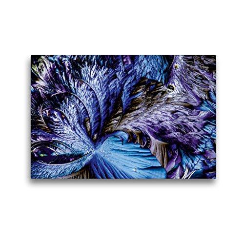 CALVENDO Premium Textil-Leinwand 45 x 30 cm Quer-Format Äpfelsäure mit Resorcin, Leinwanddruck von Thomas Becker
